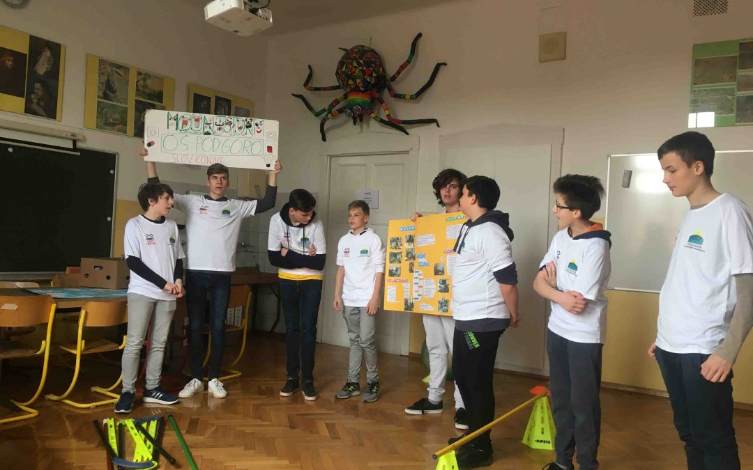 FLL ekipa v Escape room-u