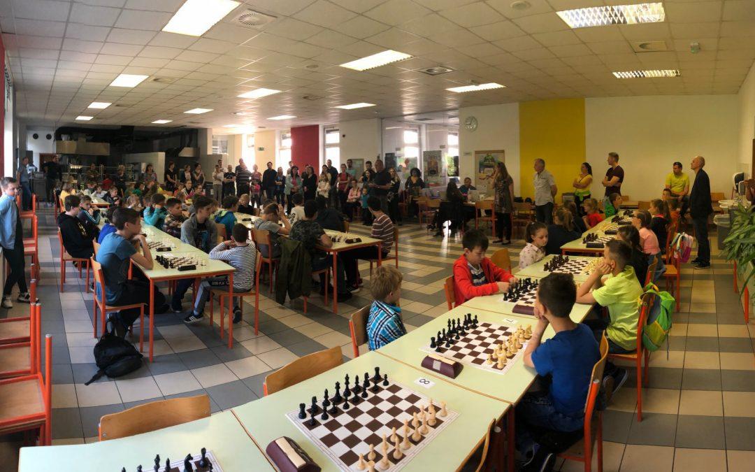 Regionalno prvenstvo osnovnošolcev v pospešenem šahu
