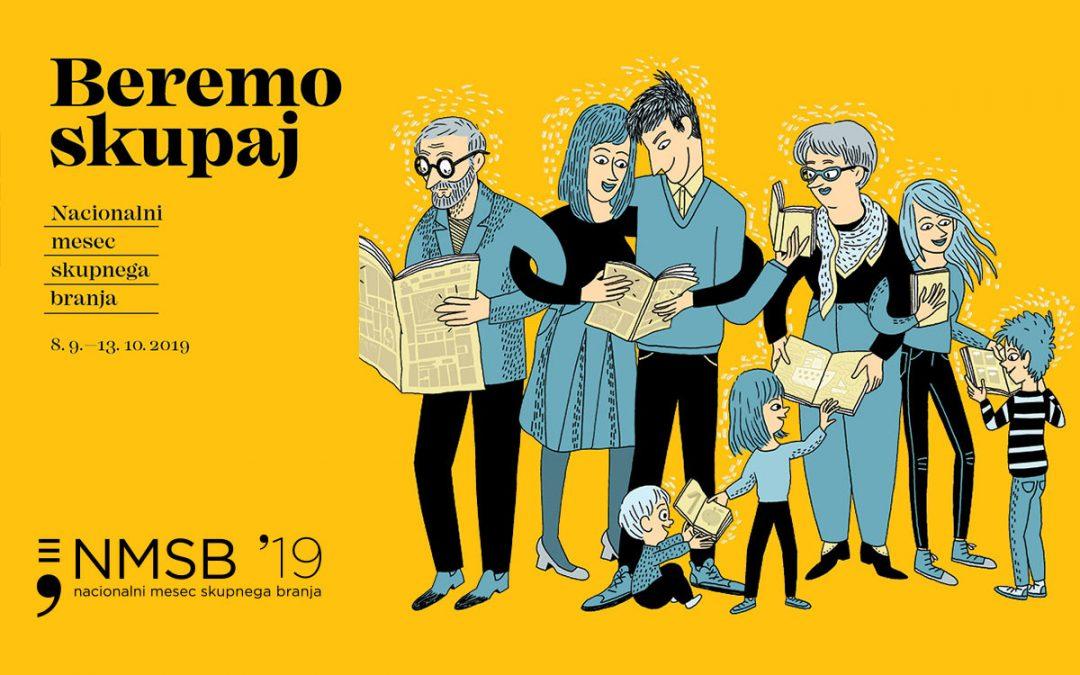 Nacionalni mesec skupnega branja 2019
