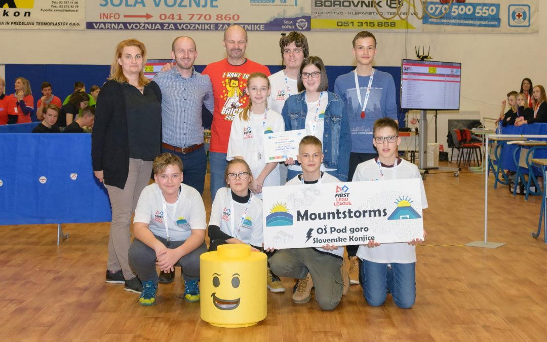 MountStorms v finalu FIRST LEGO League!