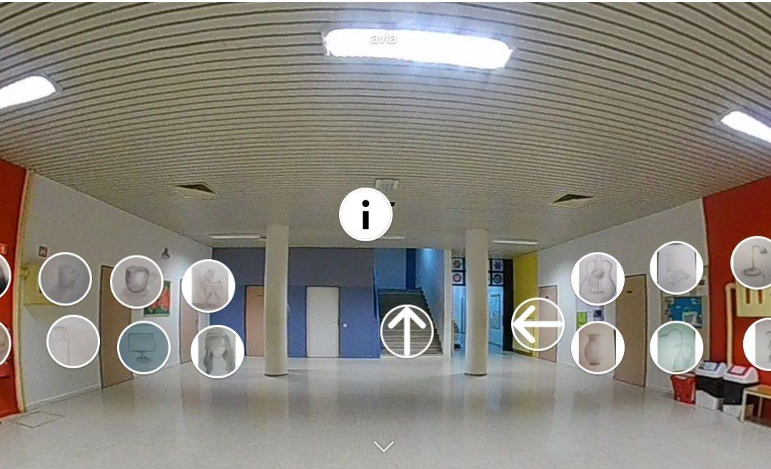 Virtualne likovne galerije na OŠ Pod goro